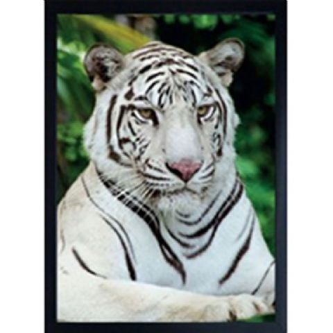 WHITE TIGER 3D FRIDGE MAGNET